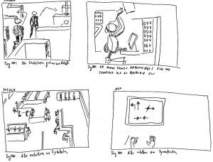 Storyboard Eins, Tag 1001